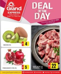 Grand Express Deal of the Day